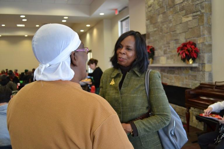 Cora McCorvey says farewell to residents