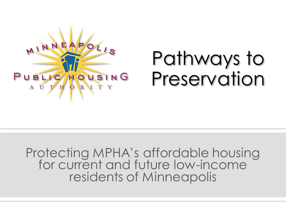Pathways to Preservation Cover Slide