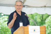 MPHA Executive Director Greg Russ at the Minnehaha Townhomes groundbreaking