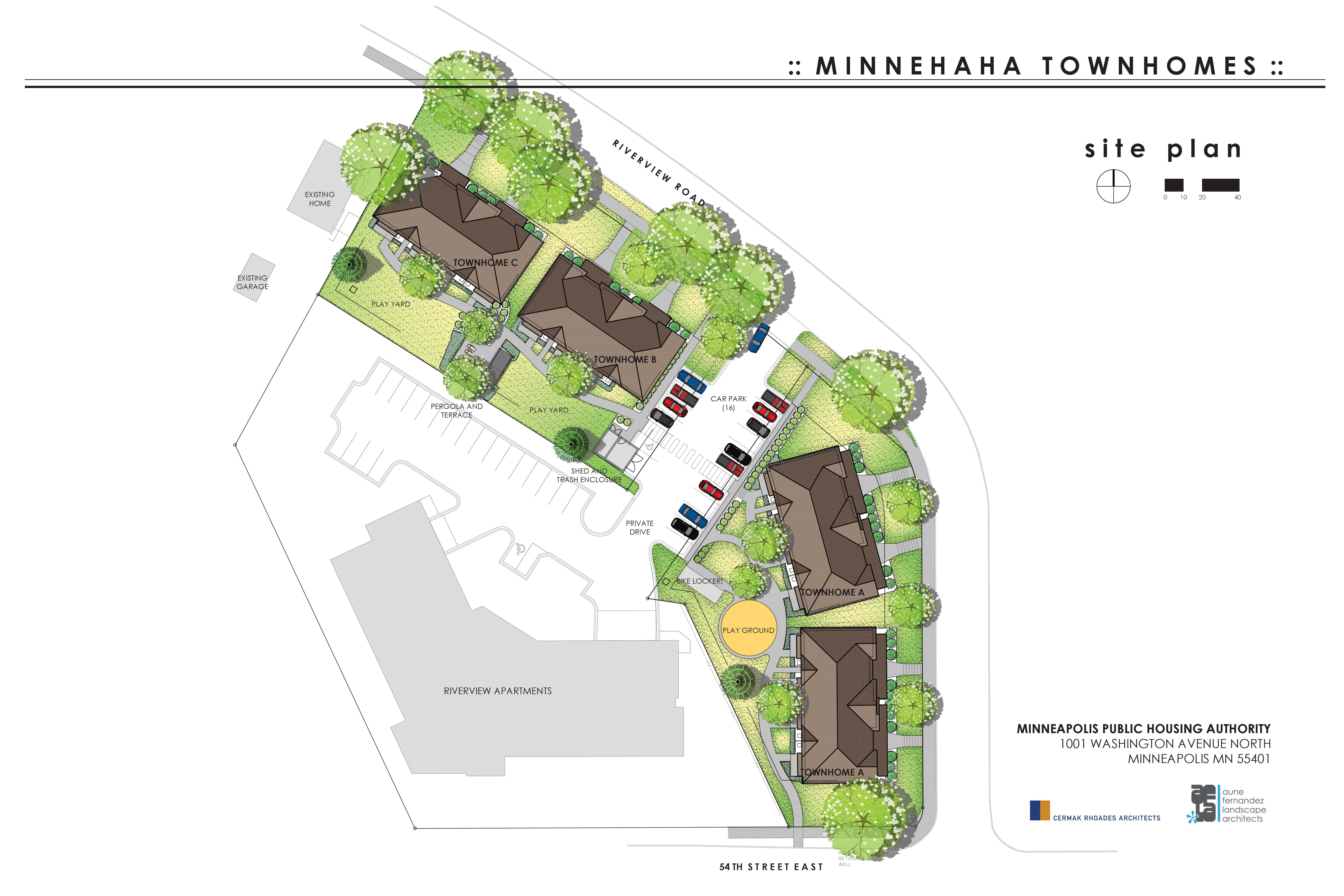Minnehaha Townhomes Site Plan