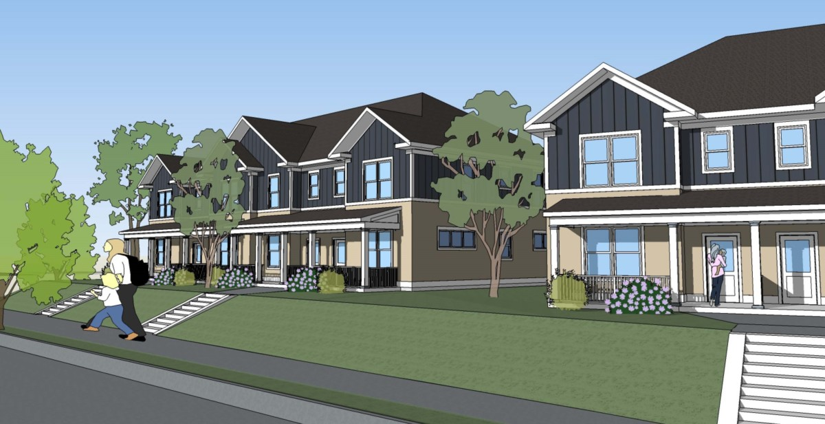 Minnehaha Townhomes (architect's rendering)
