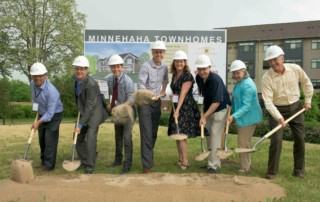 Minnehaha Townhomes groundbreaking