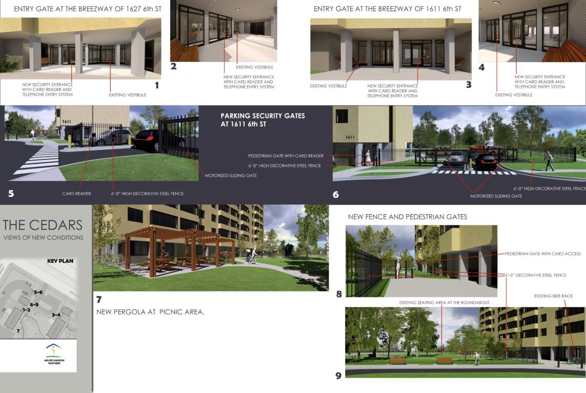 Cedars Security Upgrades Images
