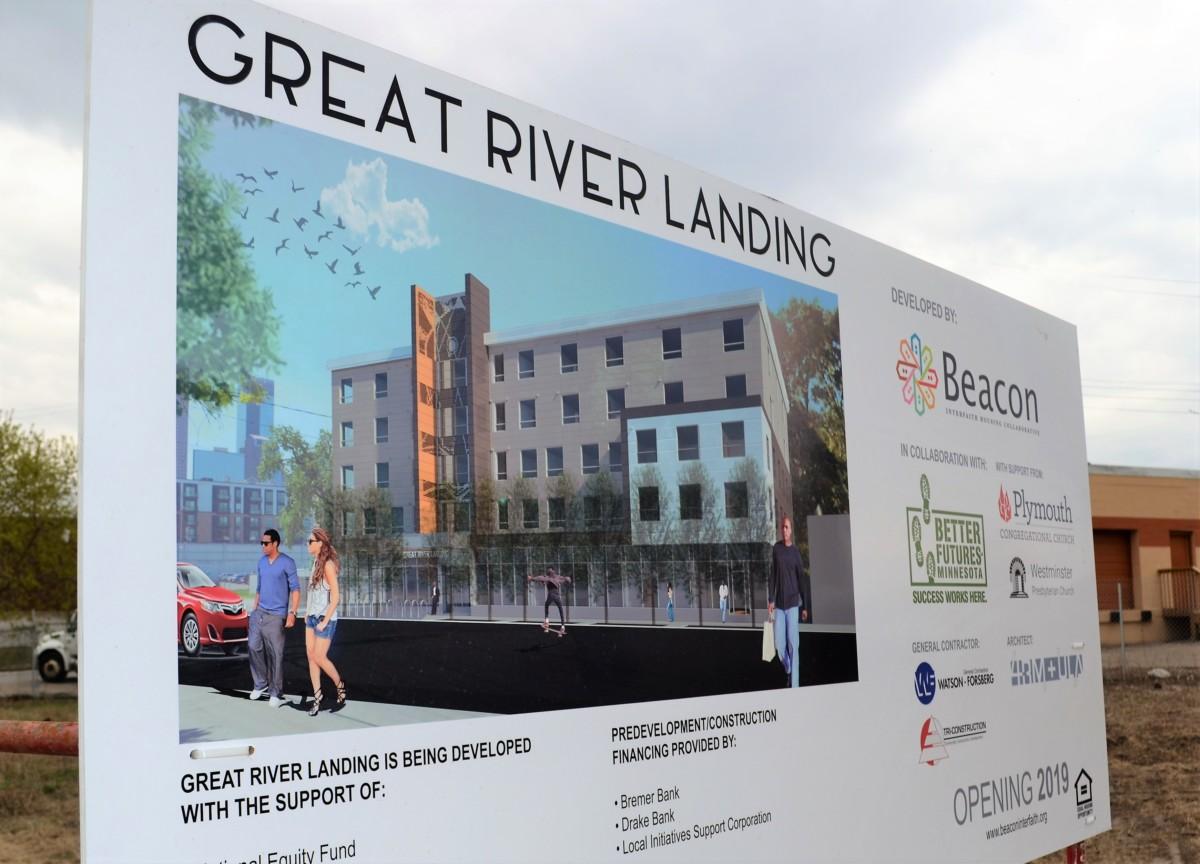 Great River Landing Groundbreaking