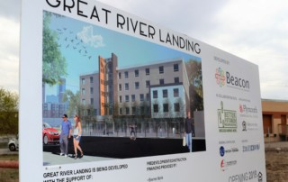 Great River Landing Groundbreaking