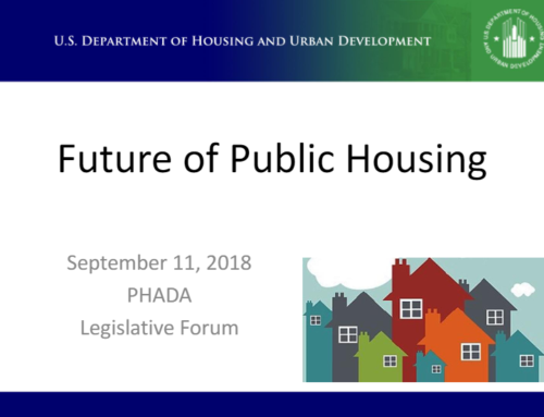 "A look at ""The Future of Public Housing""…from HUD"