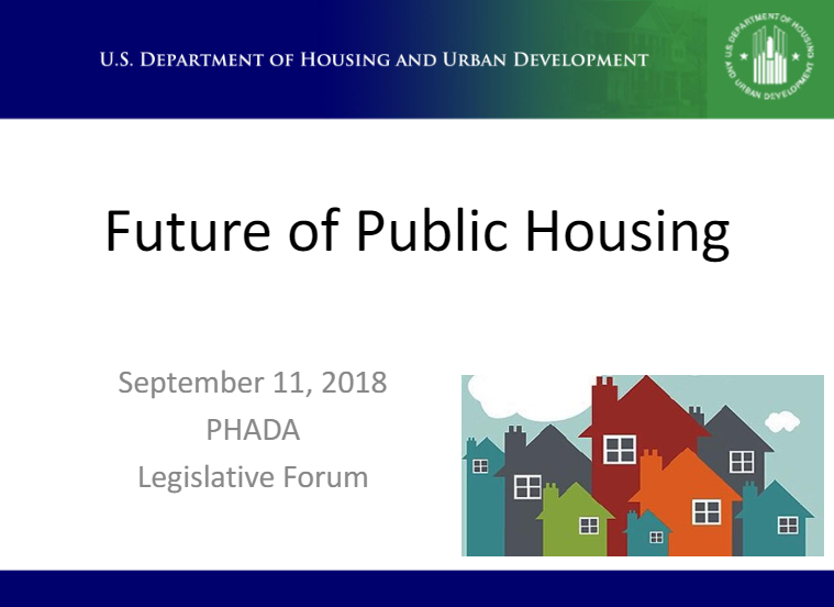 """A look at """"The Future of Public Housing""""…from HUD ..."""