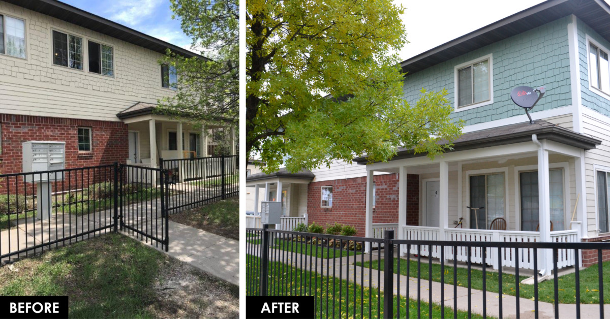 Before and After 35th and Bloomington