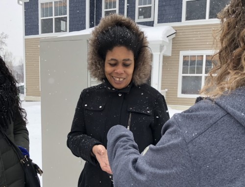 Families begin moving into the first new public housing in Minneapolis since 2010